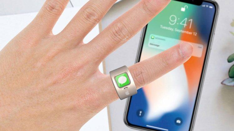 Apple Ring görücüye çıktı, Gizemli yüzük