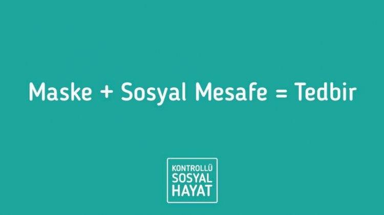 Maske + Sosyal Mesafe